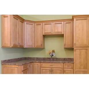 North Timber Savannah Honey Kitchen Cabinets