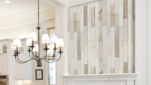 Light Colored Wall Planks