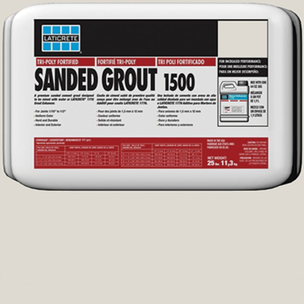 Laticrete Sanded Tile Grout Light Pewter