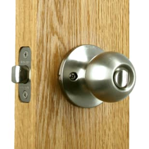 Privacy Ball Lockset Satin Nickel