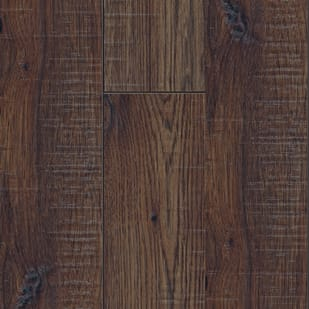 Hickory Hand-Scrapped 12mm Laminate Flooring