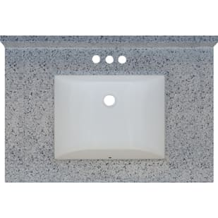 5020717 Moonscape 31x22 Engineered Stone Granite Finish Vanity Top