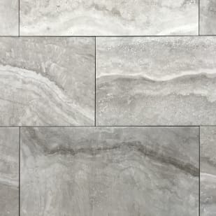 "12""x24"" Alabastrino Grey Porcelain Tile"