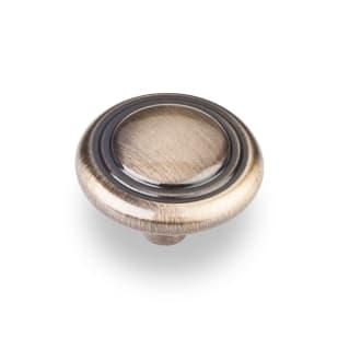 "1-1/4"" Kingsport Cabinet Knob in Brushed Antique Brass"