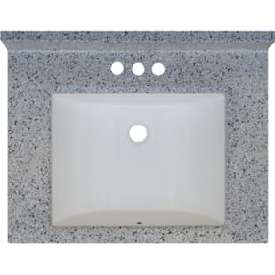 5020715 Moonscape 25x19 Engineered Stone Granite Finish Vanity Top