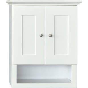 5018025 Linen White 21x26 Over-the-John Bath Cabinet