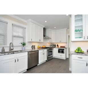 NEKC Andover White Shaker Kitchen Cabinets