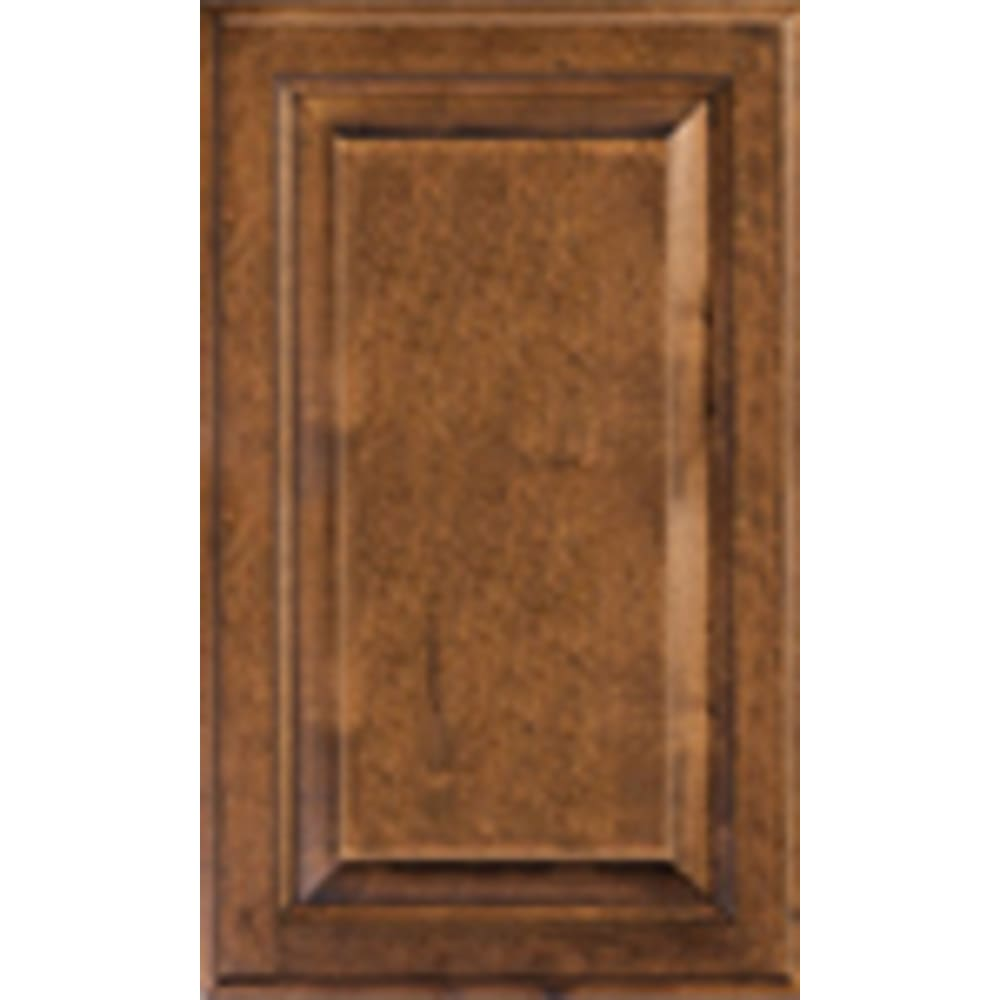 Heritage Distressed Mocha Cabinet Door