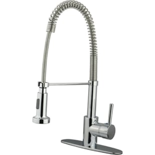 Chrome Pulldown Lever Handle Faucet