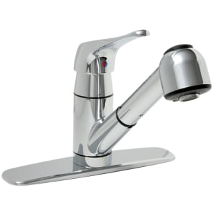 Single-Lever Chrome Pull-Out Kitchen Faucet