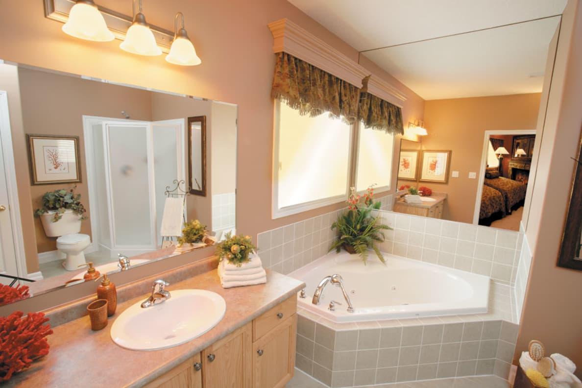 Open Bathroom Scene