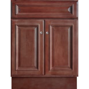 5024363 Savannah Merlot 24x18 Two Door Vanity base