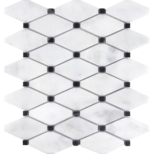 5536826 Bianco Clipped Marble Mosaic Tile
