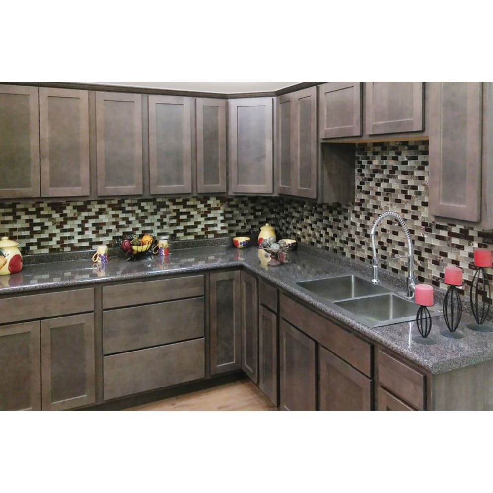 Smart Squire Slate Gray Shaker Cabinets Home Outlet