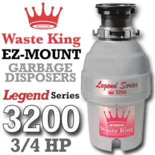 Waste King Legend Series 3200 3/4 Hp Garbage Disposer