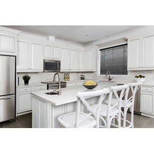 Sunnywood Riley White Kitchen Cabinets