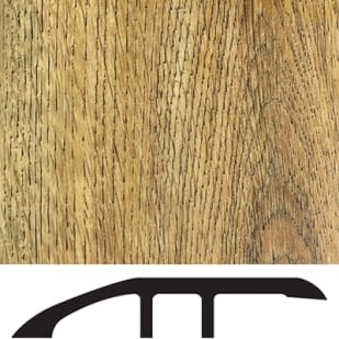 5556032 Luxury Vinyl Floor Reducer Molding   Antique Oak