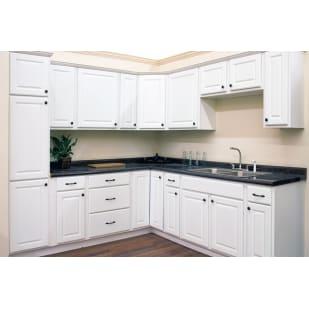 Smart Bridgeport White Kitchen Cabinets