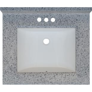 5020716 Moonscape 25x22 Engineered Stone Granite Finish Vanity Top