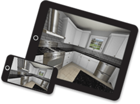 ProK Kitchen Design On Tablet & Phone