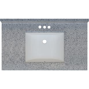 5020718 Moonscape 37x22 Engineered Stone Granite Finish Vanity Top