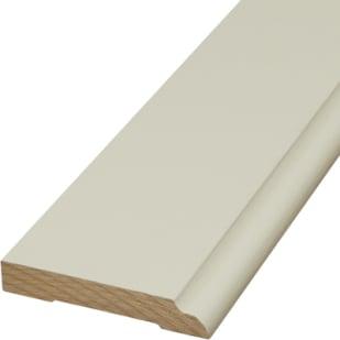 """3-1/4"""" Primed MDF Baseboard Moulding LWM623"""