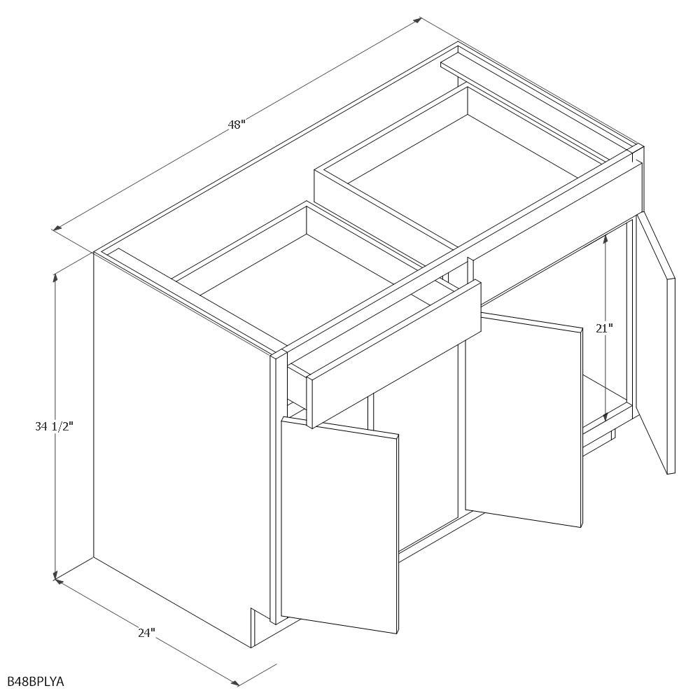 Unfinished Kitchen Cabinets Base