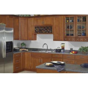 Sunnywood Ellisen Amber Spice Shaker Kitchen Cabinets