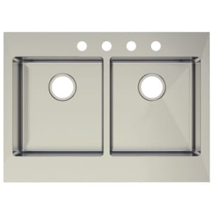 """Double Bowl with Flat Front 8"""" Farm Sink"""