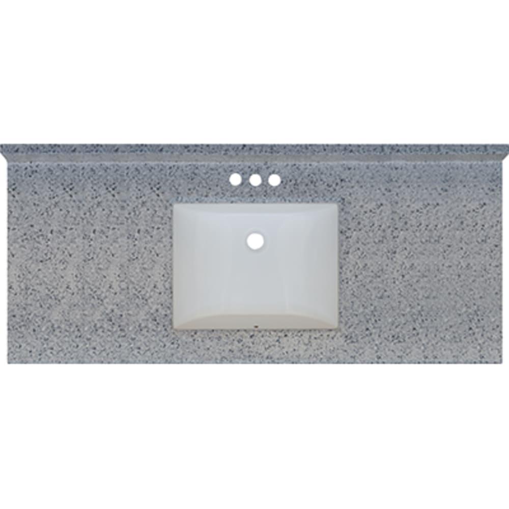 5020719 Moonscape 49x22 Engineered Stone Granite Finish Vanity Top