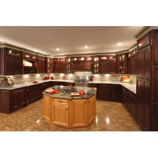 Faircrest York Coffee Shaker Kitchen Cabinets