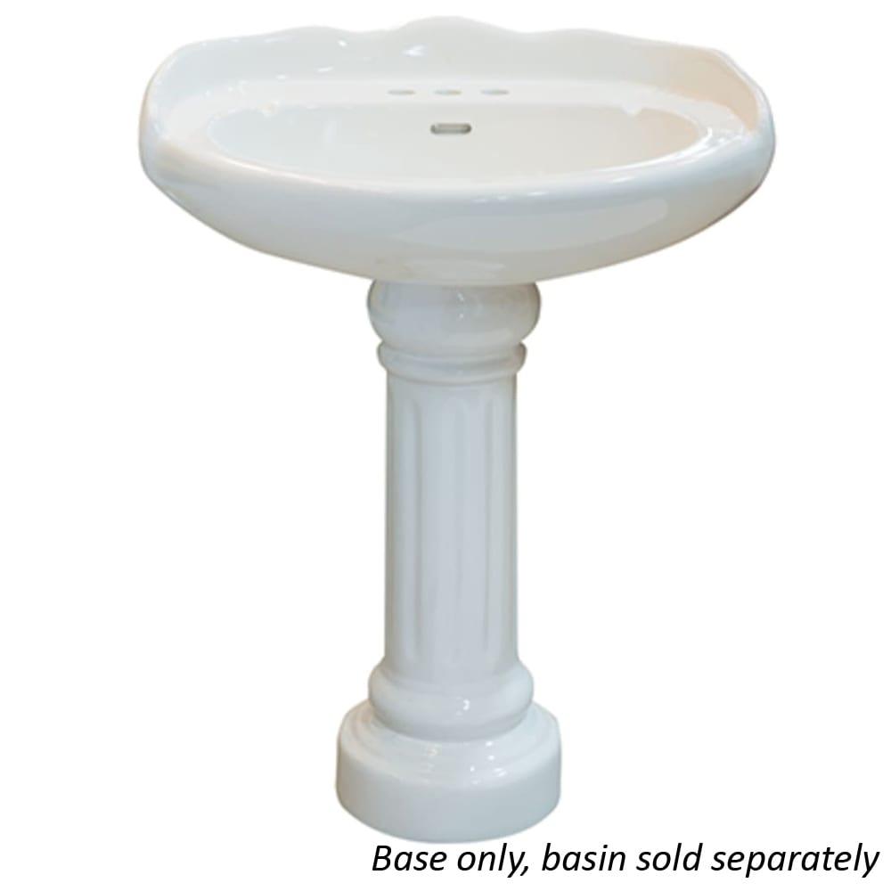 Chesapeake White Porcelain Sink Base