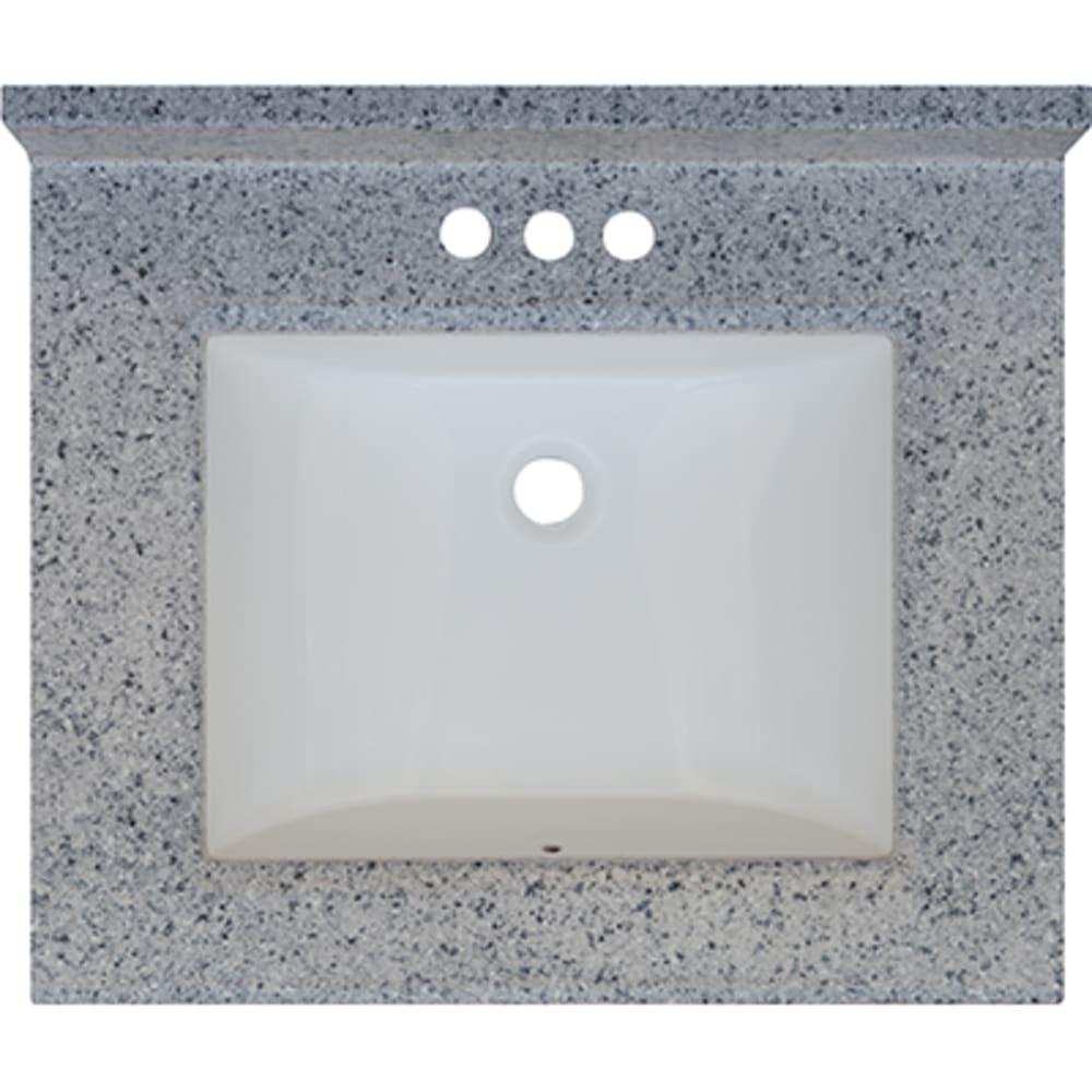 5020716 Moonscape 25x22 Engineered Stone Granite Finish Vanity Top
