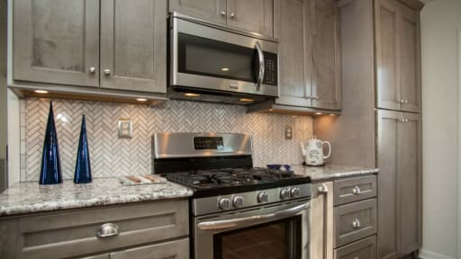 Heritage Norris Gray Kitchen Cabinets