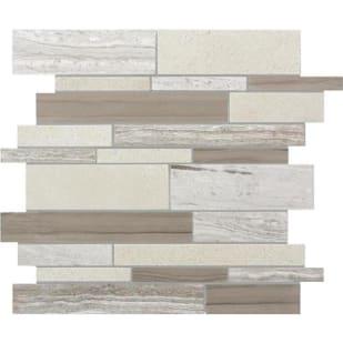 5536509 Urban Blend Marble Linear Mosaic Tile