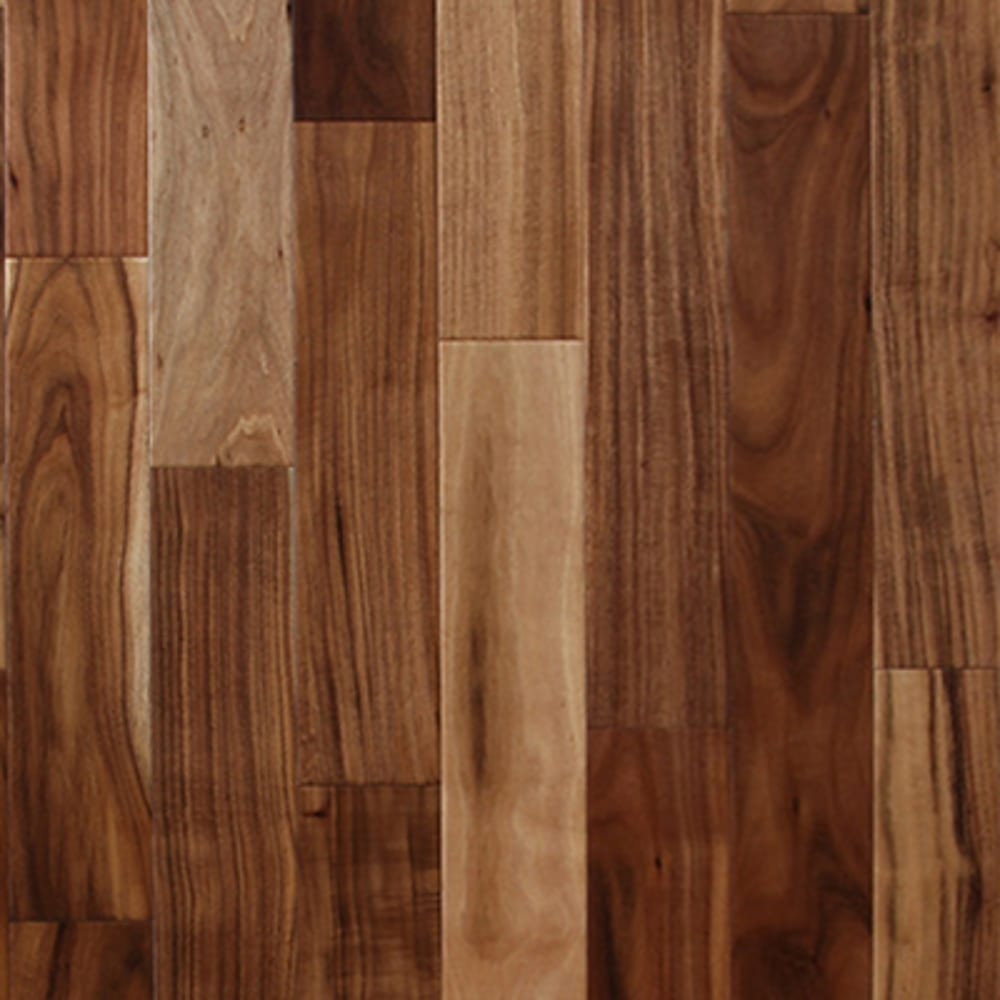"Natural Acacia 1/2"" Engineered Hardwood Flooring"