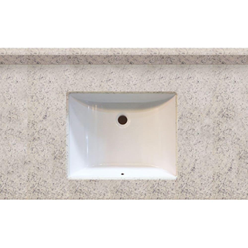 5020509 Arctic Stone 37x22 Engineered Stone Granite Finish Vanity Top