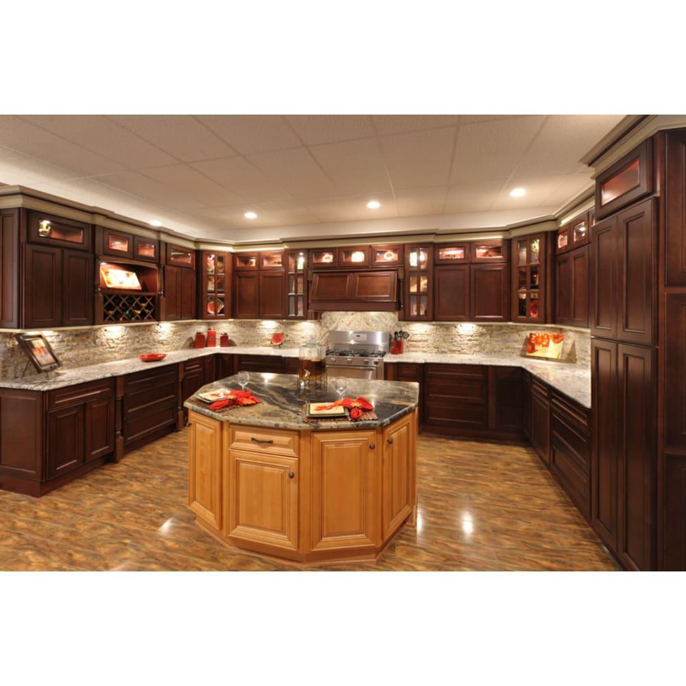 Faircrest York Coffee Shaker Kitchen Cabinets