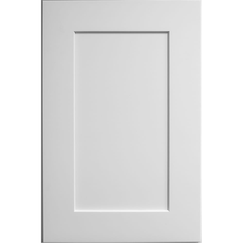 "Faircrest White Shaker 15""x 42"" Single Door Wall Cabinet ..."