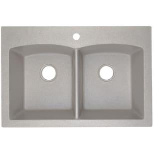 8037022 Dual Mount Granite Composite Kitchen Sink  50 50  Sand