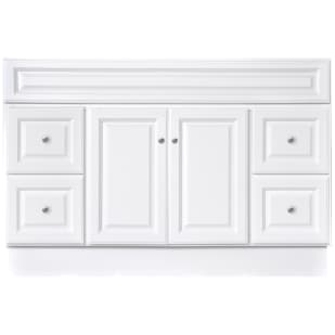 "North Timber Harbor White 48"" x 21"" 4-Drawer Vanity Base"