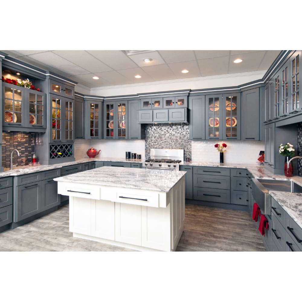 Faircrest Platinum Shaker Kitchen Cabinets