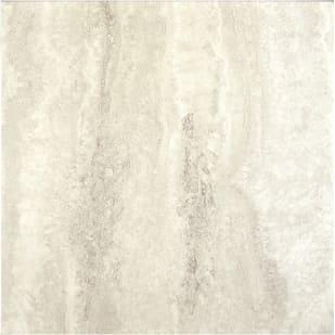 "18""x18"" DecoraStone Self Stick Vinyl in Arctic White"