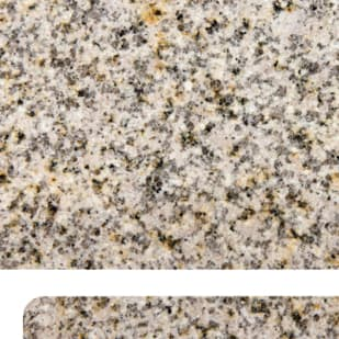 "Golden Garnet 72"" Real Granite Countertop"