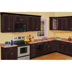 North Timber Newport Espresso Shaker Kitchen Cabinets