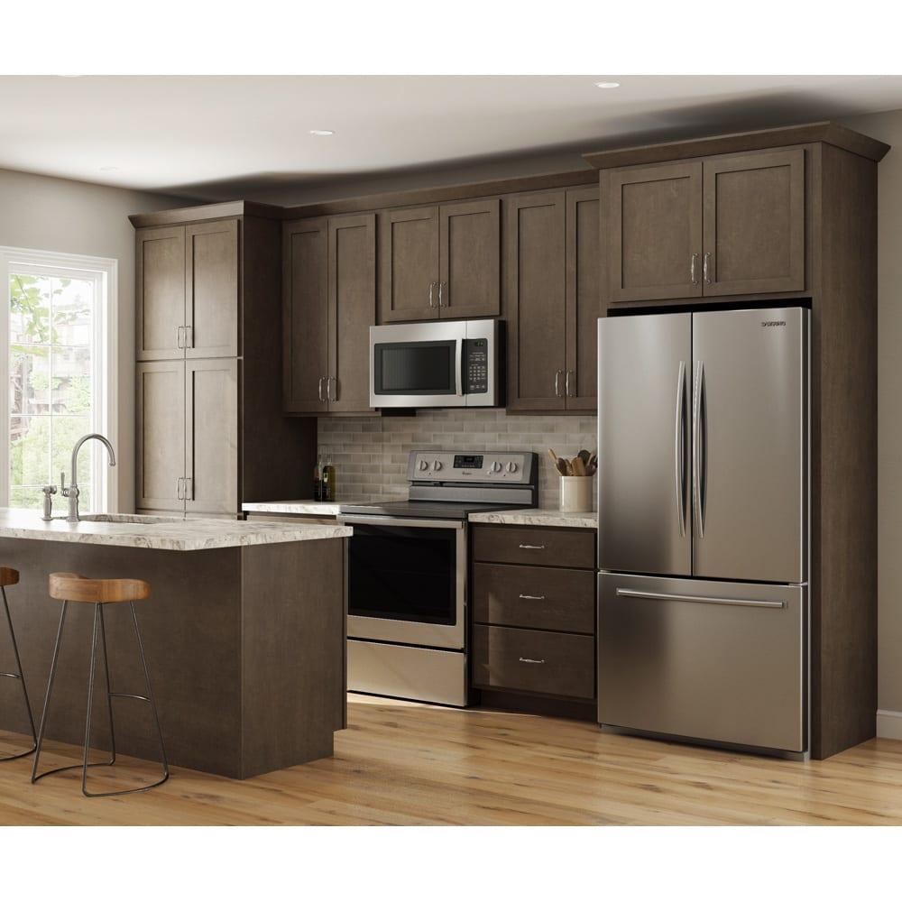 Smart Sheffield Slate Gray Shaker Cabinets Home Outlet