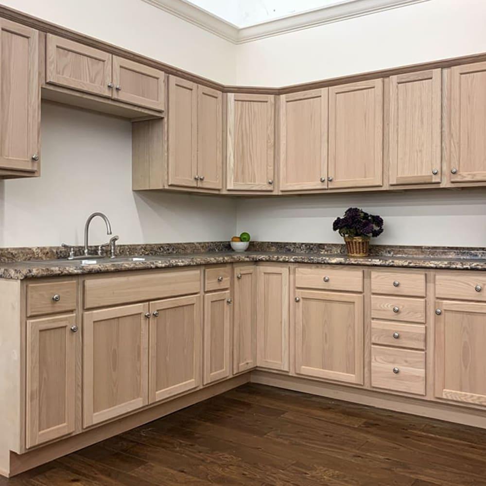 Unfinished Wood Kitchen Cabinets Oak Unfinished Kitchen Cabi| Home Outlet