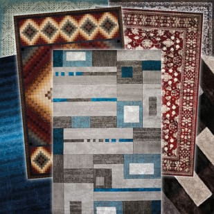 5544914 7  039  x 10  039  Assorted Area Rugs