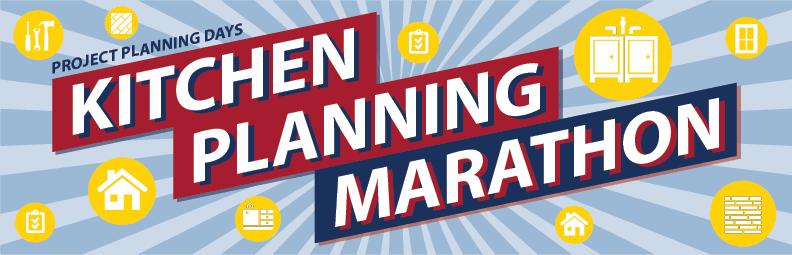 Kitchen Planning Marathon