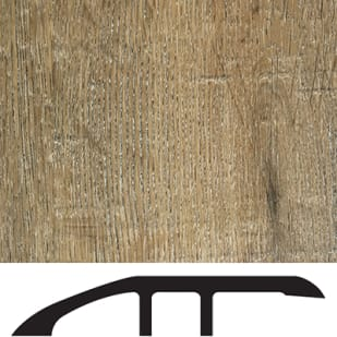 5556038 Luxury Vinyl Floor Reducer Molding   Rustic Cypress   Autumn Wheat